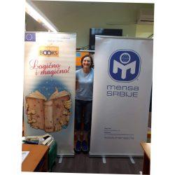 """Projekat ,,Pametno čitanje"""", Mensa, Propolis Books, Dunja Šašić i Gradska biblioteka, Novi Sad, jul 2018."""