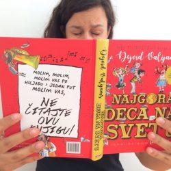 "Kako preživeti čitanje knjige ,,Najgora deca na svetu"" – mali priručnik za roditelje"
